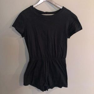 American Apparel - Black Romper Size M Medium
